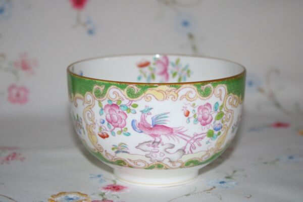 Minton Cockatrice Sugar Bowl